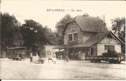 14 - RIVA-BELLA  La Gare - Riva Bella