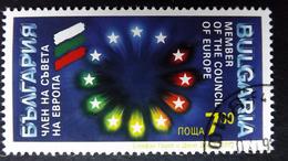 Bulgarien 4014 Oo/used, Aufnahme Bulgariens In Den Europarat.