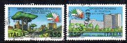 XP1716 - REPUBBLICA 1984, Serie Usata . ESPOSIZIONE - 6. 1946-.. Repubblica