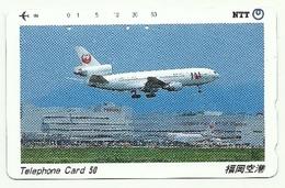 Giappone - Tessera Telefonica Da 50 Units T211 - NTT - Avions