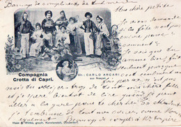 1899 Compagnia Grotta Di CAPRI / Dir. Carlo Arcari - Italia
