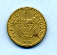 1991 20 PESOS - Colombie