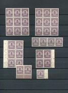 Infla Lot  Mi 315 Lot   Xx     #dx1707 - Allemagne