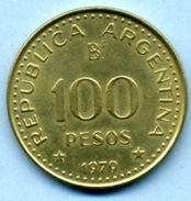 1979  100 PESOS - Argentina