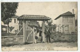 Conflans Saint Honorine  (78.Yvelines)  La Villa Des Fleurs- Quartier De Chennevières - Conflans Saint Honorine