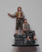 Figurine Le Seigneur Des Anneaux N°35 / Merry Et Pippin à Isengard - Le Seigneur Des Anneaux