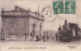 QUINCIE (69) Gare Du Chemin De Fer Beaujolais - Ohne Zuordnung