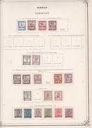 Maroc - Collection Vendue Page Par Page - Timbres Oblitérés / Neufs *(avec Charnière) -Qualité B/TB - Postage Due