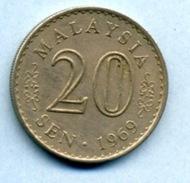 1969 20  SEN - Malaysia