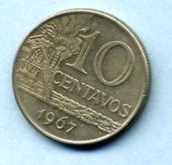 1967 10 Centavos - Brésil