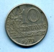 1970 10 Centavos - Brésil
