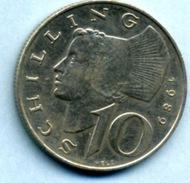 1989  10 Schlling - Autriche