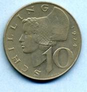 1974  10 Schlling - Autriche
