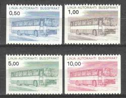 Finland Suomi 1981 Autopakket Marken1981 Mi 14-17 MNH OMNIBUS