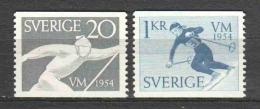 Sweden 1954 Mi 388-389 MNH