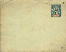 NOUVELLE CALEDONIE - Entier Sur Env Vierge Au Type Groupe - En L'état - P21158 - Briefe U. Dokumente