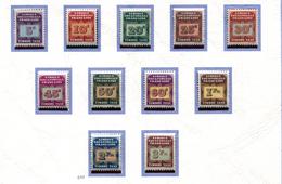 AEF **  Taxe N° 1 à 11   - - A.E.F. (1936-1958)