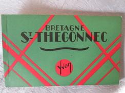 ST THEGONNEC . BRETAGNE . CARNET - Bretagne