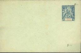 COTE D'IVOIRE - Entier Sur Env Vierge Au Type Groupe - P21163 - Briefe U. Dokumente