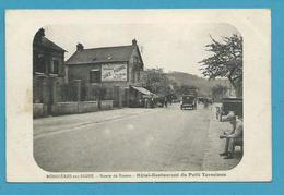 CPA Hôtel-Restaurant Du Petit Terminus Route De Rouen BONNIERES SUR SEINE 78 - Bonnieres Sur Seine