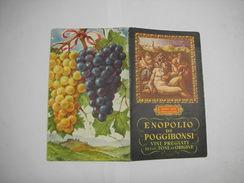 POGGIBONSI  -- SIENA  ---  ENOPOLIO -- VINI PREGIATI - Italia