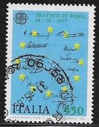 N° 1531   -  EUROPA  ITALIE  -   OBLITERE  -  1982 - 1981-90: Gebraucht