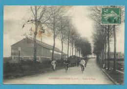 CPA Route De Paris BONNIERES-SUR-SEINE 78 - Bonnieres Sur Seine