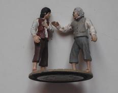Figurine Le Seigneur Des Anneaux N°128 / Bilbon-bilbo Et Frodon - Lord Of The Rings