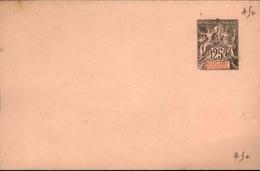 GUADELOUPE - Entier Sur Env Vierge Au Type Groupe - P21169 - Lettres & Documents