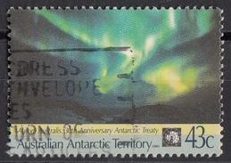 L81 Australia 1991 Australian Antarctic Territory : Aurora Australis Viaggiato Used - Usati