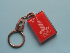 MOSCOW 1980 ( For Grade, Please See Photo ) 2,8 Cm X 4 Cm. ! - Porte-clefs