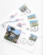 Enveloppes  1er Jour FDC . 2006 4 Enveloppes Capitales Européennes - FDC