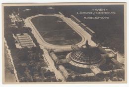 Wien Rotunde, Trabrennolatz Old Photopostcard Travelled 1921 To Ljubljana B170105 - Sonstige