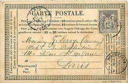 Cpa Précurseur VILLENAUXE LE GRAND 10 à Paris 1877 - Autres Communes