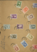 879/891 Sur Grande Lettre  Ø 1952 De Belgique - Storia Postale