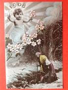NIEUWJAAR Jaartal 1907 - 1908 - BONNE ANNEE - HAPPY NEW YEAR - Nouvel An