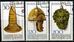 BRD - Michel 943 / 945 - OO Gestempelt (A) - Archäologisches Kulturgut II - Gebraucht