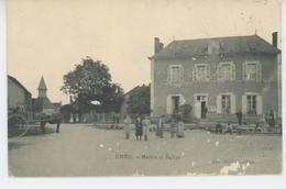 CHÉU - Mairie Et Eglise - Altri Comuni