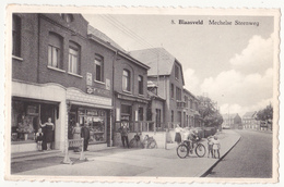 Blaasveld: Mechelse Steenweg. - Willebroek