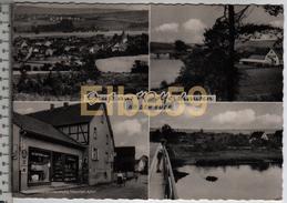Felsberg (Hessen), AK, Multivew, Gruss Aus Wolfershausen An Der Eder, Gelaufen - Germania