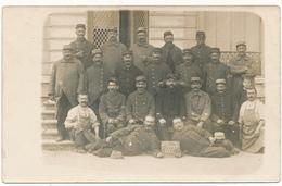 Carte Photo Militaire - 1914-1915 -  G.V.C., Poste 2 - Weltkrieg 1914-18