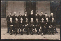 MOULINS: Plan TOP Sur Les Instituteurs, Promotion De 1927 (écrit Au Verso) RARE Carte Photo - Moulins