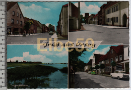 Rheinberg (Nordrhein-Westfalen), AK, Multivew, Gruss Aus Orsoy, Gelaufen - Germania