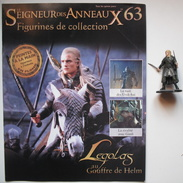 Figurine Le Seigneur Des Anneaux N°63 / Legolas Au Gouffre De Helm - Le Seigneur Des Anneaux