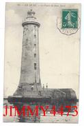 CPA - Le Phare Du Banc Nord, Bien Animé En 1910 - ILE DE RE 17 Charente Maritime - Edit. R. B. L. R. - N° 99 - Lighthouses