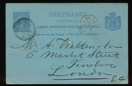 BRIEFKAART 1895 - Covers & Documents