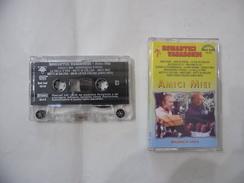 MUSICASSETTA MC ORIGINALE MAURO BUZZETTI ROMANTICI VAGABONDI AMICI MIEI. - Audio Tapes