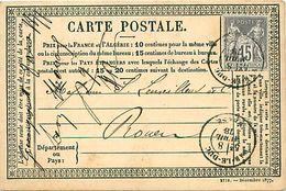Cpa Précurseur BAR LE DUC 55 à Rouen 1878 - Bar Le Duc