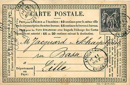 Cpa Précurseur ANGOULEME 16 à Lille, 1878 - Angouleme