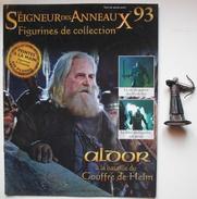 Figurine Le Seigneur Des Anneaux N°93 / Aldor à La Bataille Du Gouffre De Helm - Herr Der Ringe